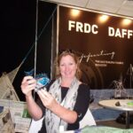 Janet Howieson our departing Secretary & Director at Large at Seafood Directions 2011 at the Gold Coast