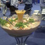 Australia's largest Prawn Cocktail Opening Night of Seafood Directions 2011 @ the Gold Coast.